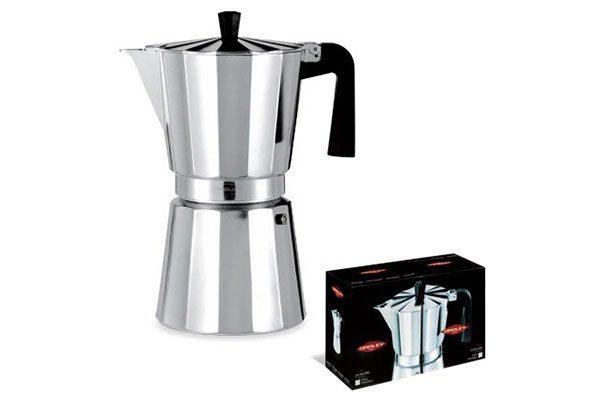 Aluminio. Cafeteras